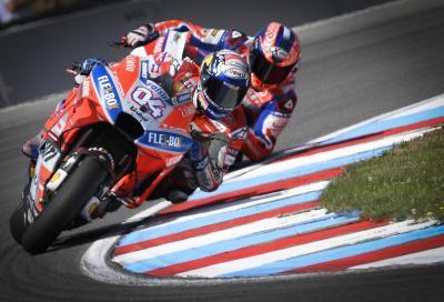 Dovizioso in pole a Brno, Rossi 2°