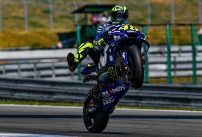 Il GP di Brno consegna a Rossi l'ennesimo record