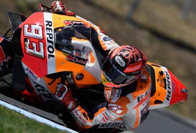 Marquez il più veloce nei test di Brno