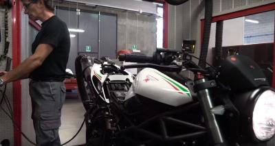 Come nasce una Moto Morini?