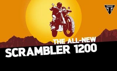 Un video annuncia l'arrivo della nuova Triumph Scrambler 1200