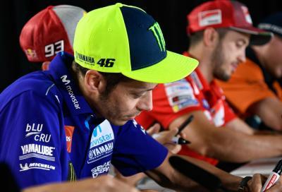 """Rossi: """"Honda e Ducati hanno investito di più, sono migliori di noi!"""""""