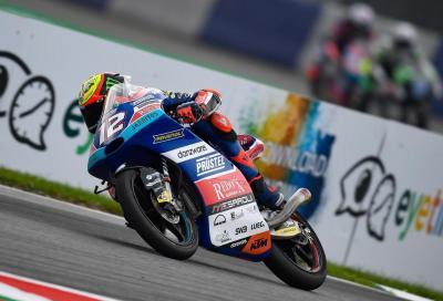 Moto3: Bezzecchi agguanta la pole al Red Bull Ring