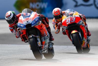 Che duello in MotoGP! Lorenzo batte Marquez in Austria