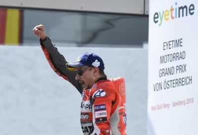 """Lorenzo: """"Per adattarmi alla Ducati ho cambiato il mio stile di guida"""""""
