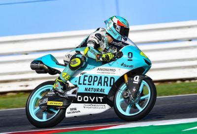 Moto3: Bezzecchi cade, Dalla Porta vince a Misano