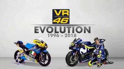 1996 - 2018: l'evoluzione della moto di Valentino Rossi