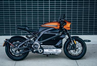 Harley-Davidson svela la versione definitiva dell'elettrica LiveWire