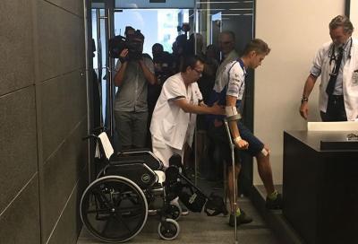 """Rabat: """"Dopo l'incidente la mia gamba era storta come una S"""""""