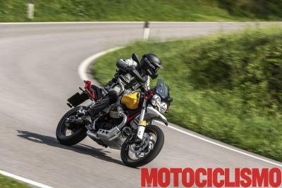 V85TT: attraente come una scrambler, pratica come una crossover
