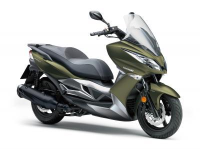 Nuova livrea per la gamma scooter Kawasaki