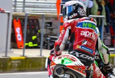 Nuovo capotecnico nel box Aprilia MotoGP