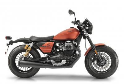Moto Guzzi svela la nuova V9 Bobber Sport
