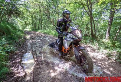 La Slovenia in sella a una KTM 1090 Adventure R