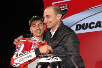 Domenicali: l'apporto di Jorge Lorenzo è prezioso per Ducati