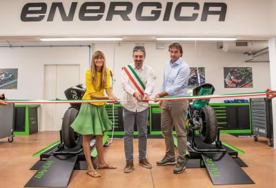 Energica: inaugurato il nuovo dipartimento Sport Production