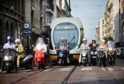 Milano: stop progressivo alle moto con l'arrivo dell'Area B