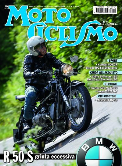Motociclismo d'Epoca di ottobre 2018