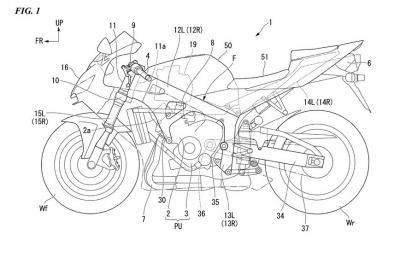 Honda brevetta il telaio rinforzato con carbonio