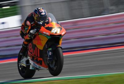 Ad Aragon la prima pole di Binder in Moto2