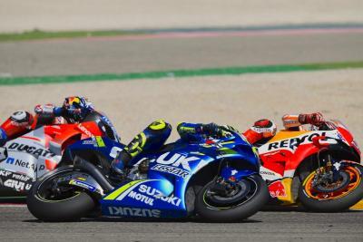 Aragon incandescente: Marquez vince, poi Dovi e Iannone