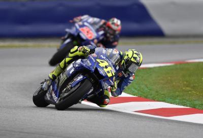 """Rossi: """"Maverick, sei arrivato in Yamaha nel momento sbagliato"""""""