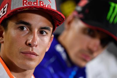 Marquez: Più forte Dovi o Lorenzo? Non so, ma temo di più Andrea