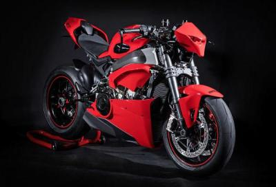 HNB P1, street fighter su base Ducati V4