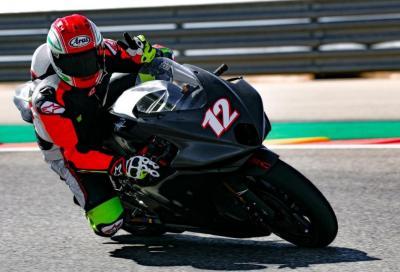 Primi chilometri per la MV Agusta Moto2 ad Aragon