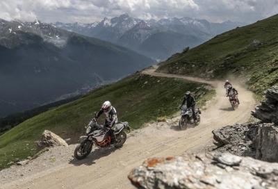 Piemonte: stop alle moto in montagna