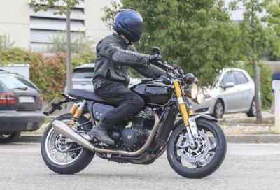 Triumph: in arrivo la nuova Speed Twin?