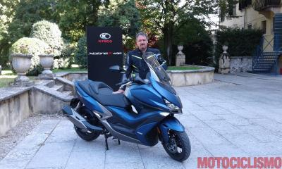 Kymco Xciting 400i S: connessione intelligente