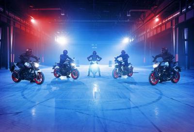 Per il 2019, le naked Yamaha si vestono fluo