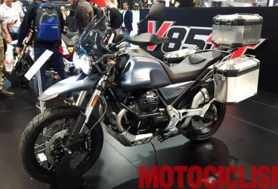 In attesa di Intermot Moto Guzzi svela nuovi dettagli della V85TT