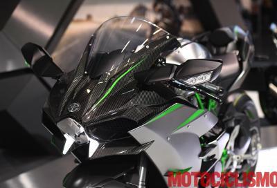 """Kawasaki H2 2019: più CV e... si """"ripara"""" da sola!"""