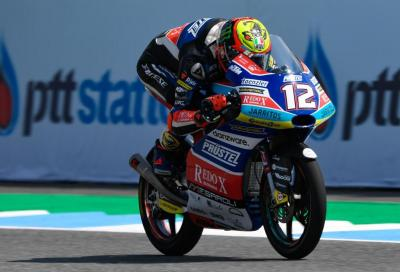 Bezzecchi vola in Thailandia, bene gli italiani in Moto3