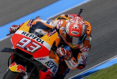 Incredibile Marquez: dalla Q1 alla Pole, Rossi ad un soffio