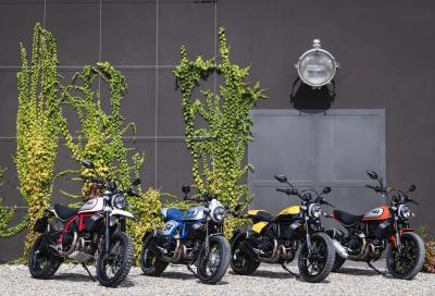 I prezzi delle nuove Ducati Scrambler 2019