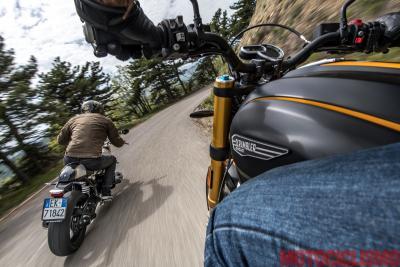 BMW R NineT vs Ducati Scrambler 1100 Sport