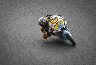 Moto3: Rodrigo in pole, Bezzecchi davanti a Martin