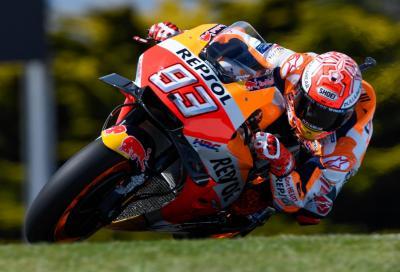 Marquez conquista la pole a Phillip Island, poi le Yamaha