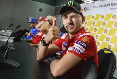 "Lorenzo: ""Ho la testa già in Honda? No, sono un pilota Ducati"""