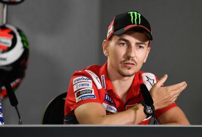 """Lorenzo: """"Sono frustrato, in caso di forfait lascerò la moto a Pirro"""""""