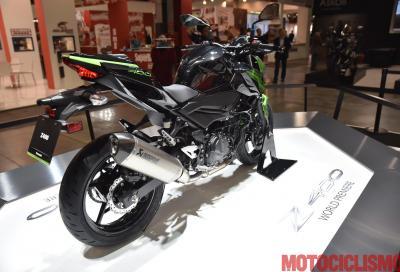 Kawasaki amplia la famiglia naked con la nuova Z400