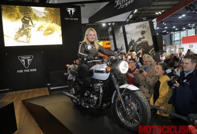 Triumph celebra i 60 anni della Bonneville con la T120 Diamond Edition