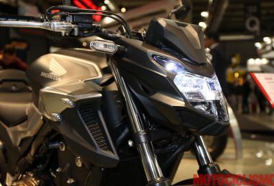 Honda CB500F 2019, piccola streetfighter