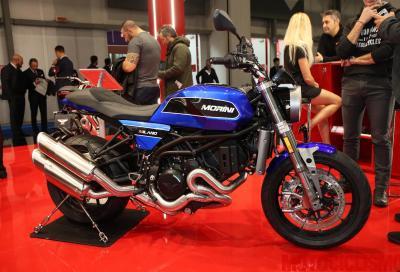 Per il 2019 la Moto Morini Milano si veste di blu