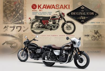 """Kawasaki W800 Street e CAFE, il ritorno di un """"evergreen"""""""