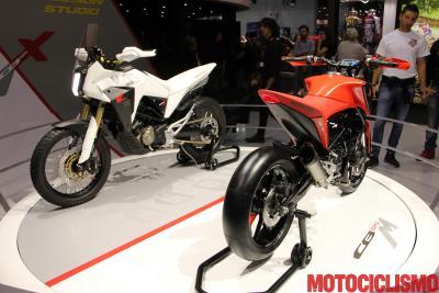 CB125X e CB125M Concept, Honda guarda al futuro