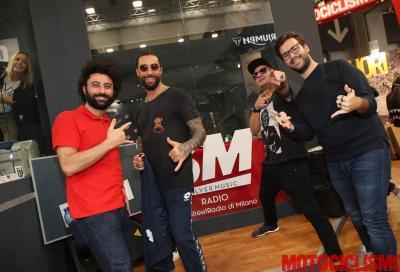 Motociclismo ad Eicma al ritmo di SilverMusic Radio